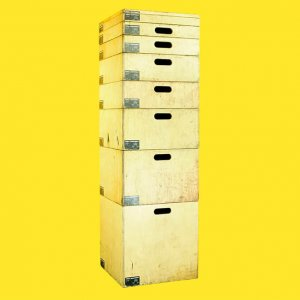 stackable apple boxes