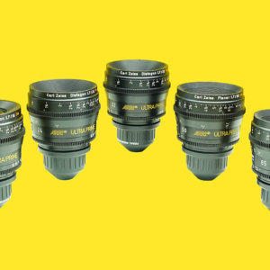 Arri Ultra Prime Lens Set