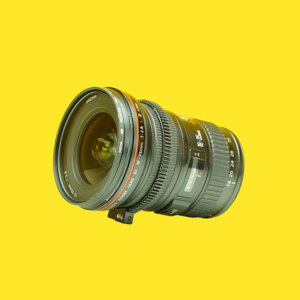 Canon 16-35mm zoom lens