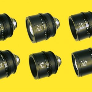 Sony 4K CineAlta Lens Set