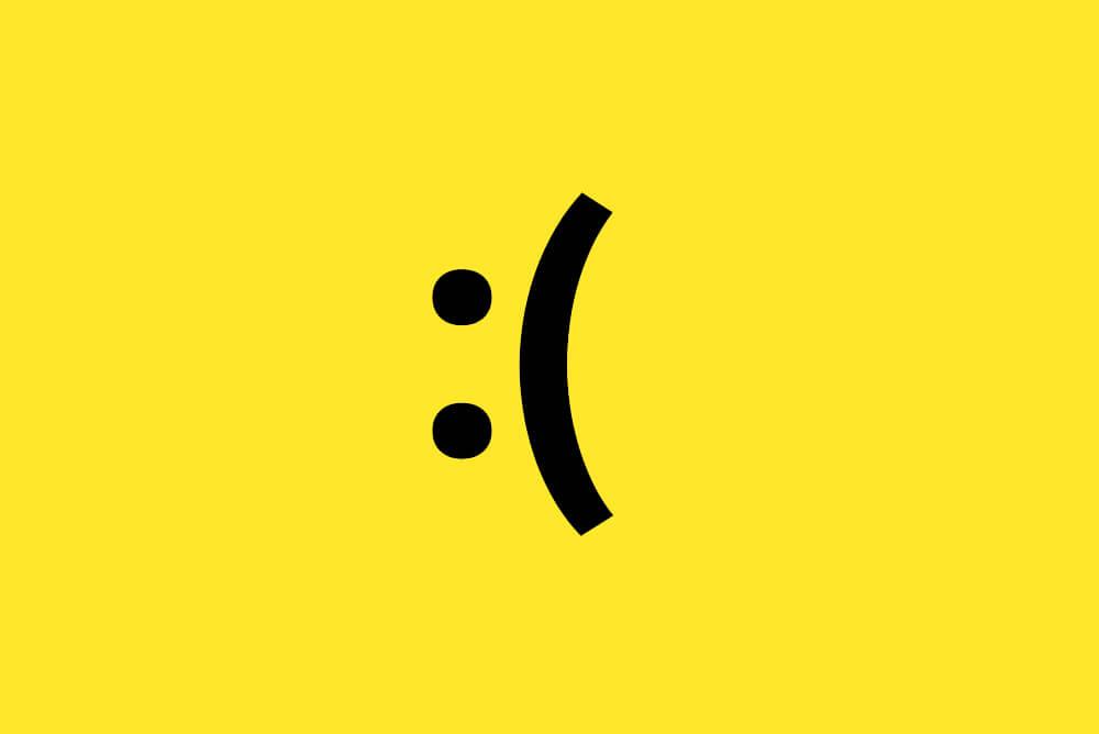 Sadface Emoji