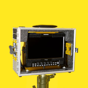 "TV Logic 9.5"" monitor for hire Feral Equipment camera accessories TV Logic"