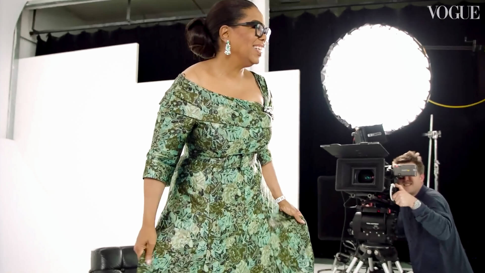 Edward Enninful Meets Oprah Winfrey British Vogue film equipment Feral Shot on Feral Kit
