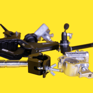 grip clamps lighting accessories rental hire gear kit equipment feral
